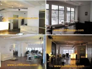Sous location bureau style loft Sainte Catherine Quartier des Spectacles