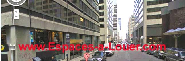 Superbe bureau à sous louer au centre ville de Montreal