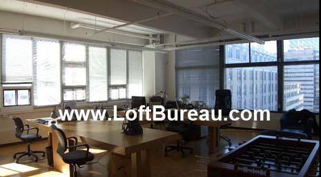Superbe bureau style loft